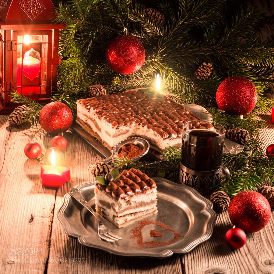 Photograph Christmas tiramisu by Darius Dzinnik on 500px
