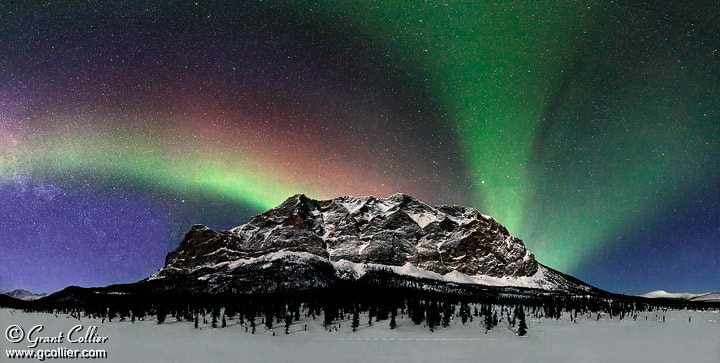 Photograph Northern Lights over Alaska by Grant Collier on 500px