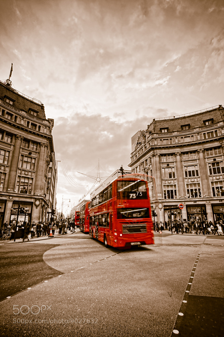 Photograph Double-Decker Bus by Thomas Marti on 500px