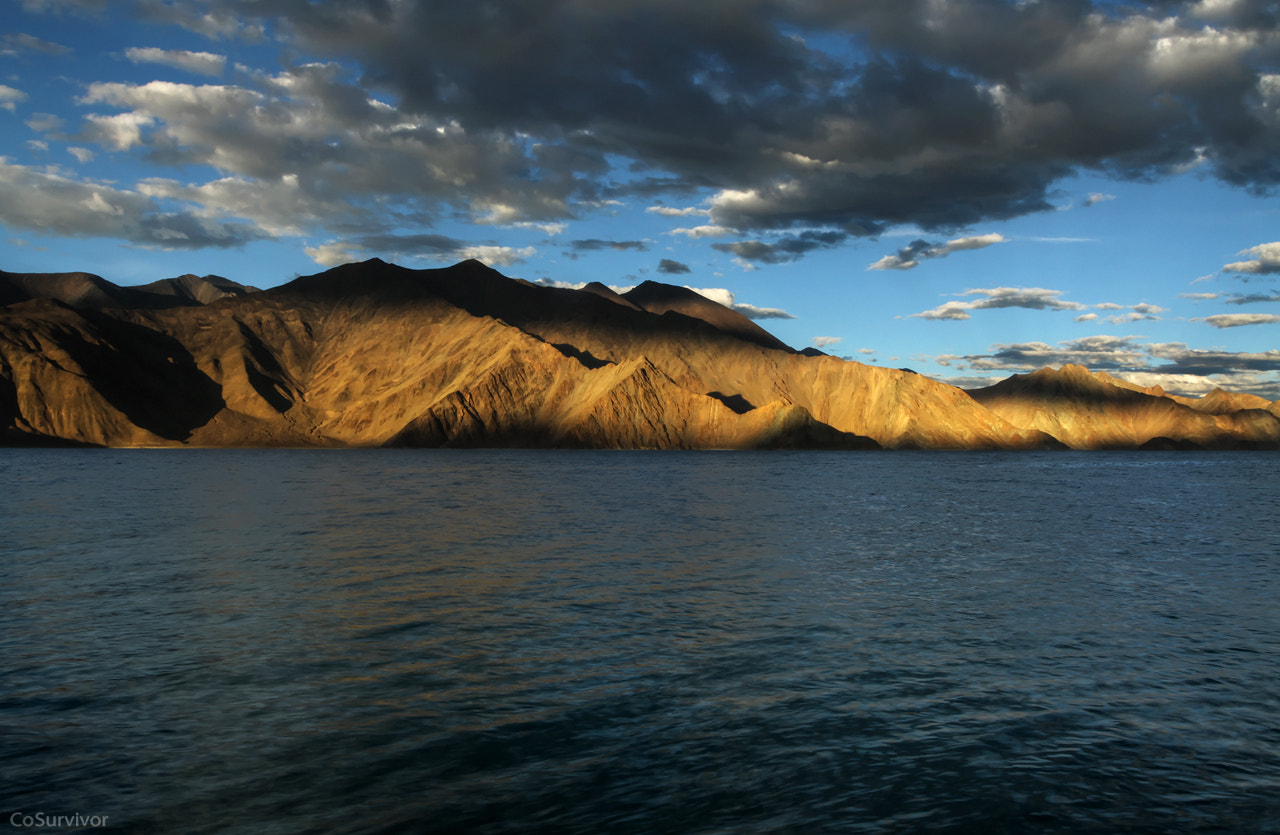 Photograph when the sun sets at Pangong Lake by Rohit Chawla on 500px