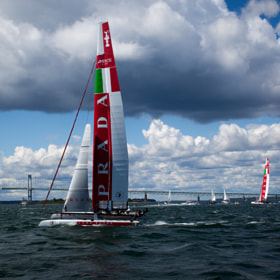 Team Prada Luna Rossa by Anthony Pitch (apitch)) on 500px.com