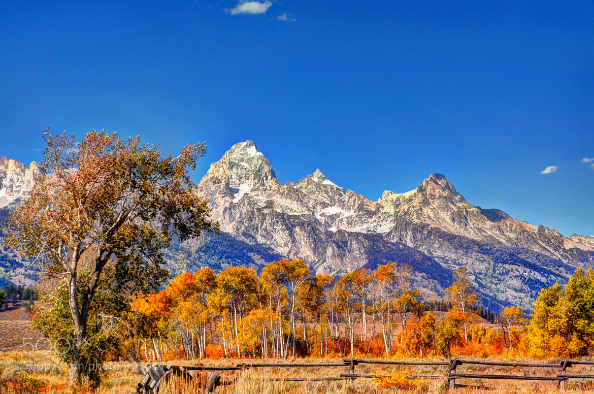 Photograph Grand Teton by Ronnie Wiggin on 500px
