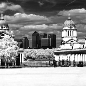 Infrared contrast