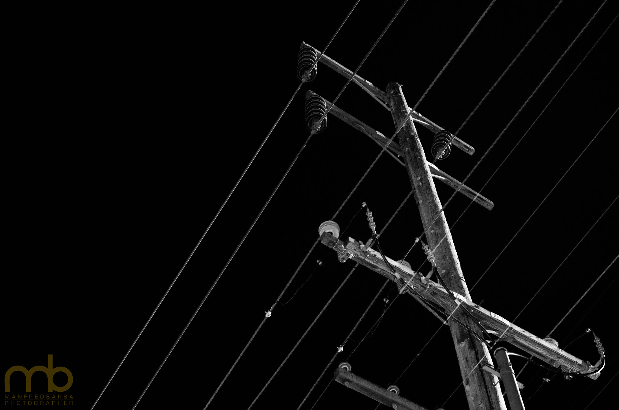 Photograph Electric Pole by manfred  barba on 500px