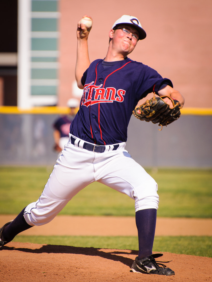 Photograph Aaron on the Mound by Blake Coble on 500px