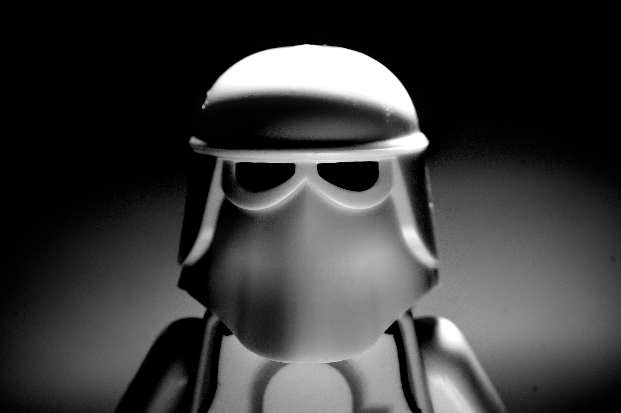 Photograph Lego snowtrooper by Lee Davison on 500px