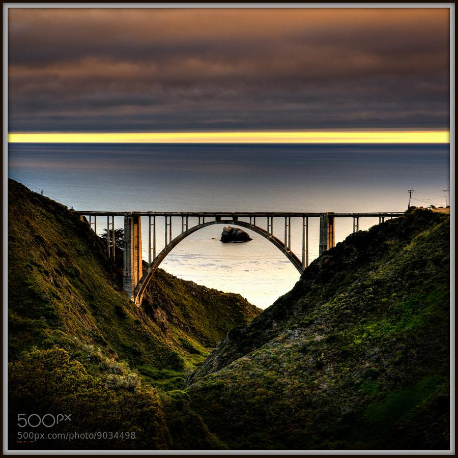 Bixby Bridge at Sunset (Big Sur Ca.)