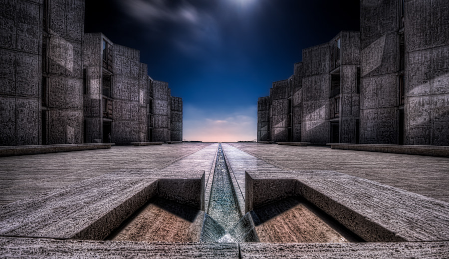 Photograph Salk Institute, La Jolla CA by Jorg Westerheide on 500px