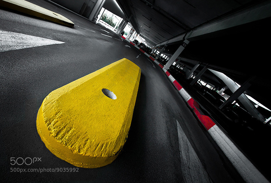 Photograph Yellow Stop by André Serikoff on 500px