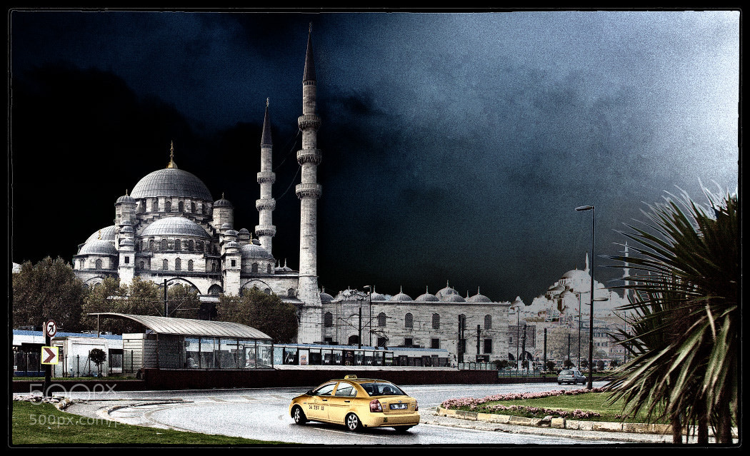 Photograph Istanbul. Yellow taxi by Andrew Krasnopolsky on 500px