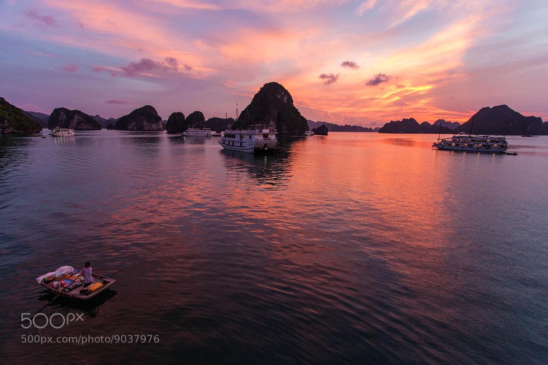 Photograph Halong Bay sunset by Gil Kreslavsky on 500px