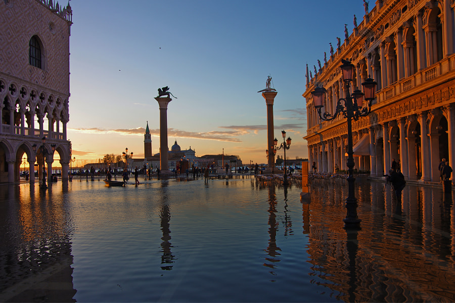 Sunrise at San Marco by Gonzalo Ramos on 500px.com