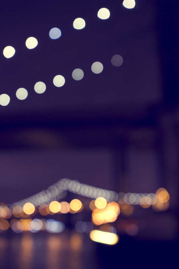Bridge bokeh