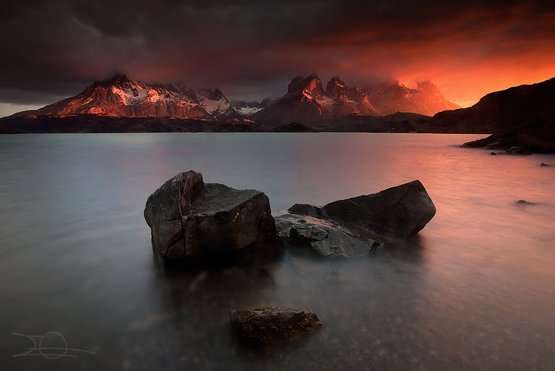 Photograph Cuernos on fire by Emmanuelle Gerber on 500px