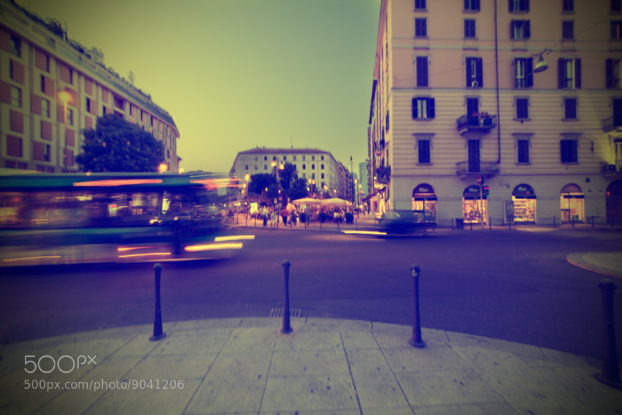 Photograph Milan, from Via Della Moscova to Corso Como by Andrea Cannaos on 500px