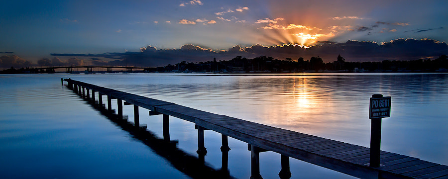 Photograph Long Jetty by Bobby Krstanoski on 500px