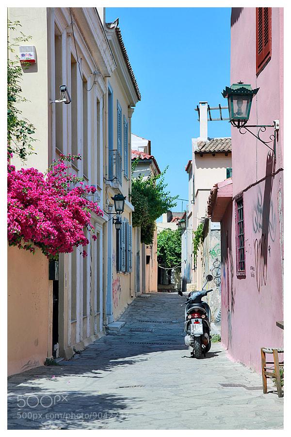Photograph Greece, Street by Natalia Antipas on 500px
