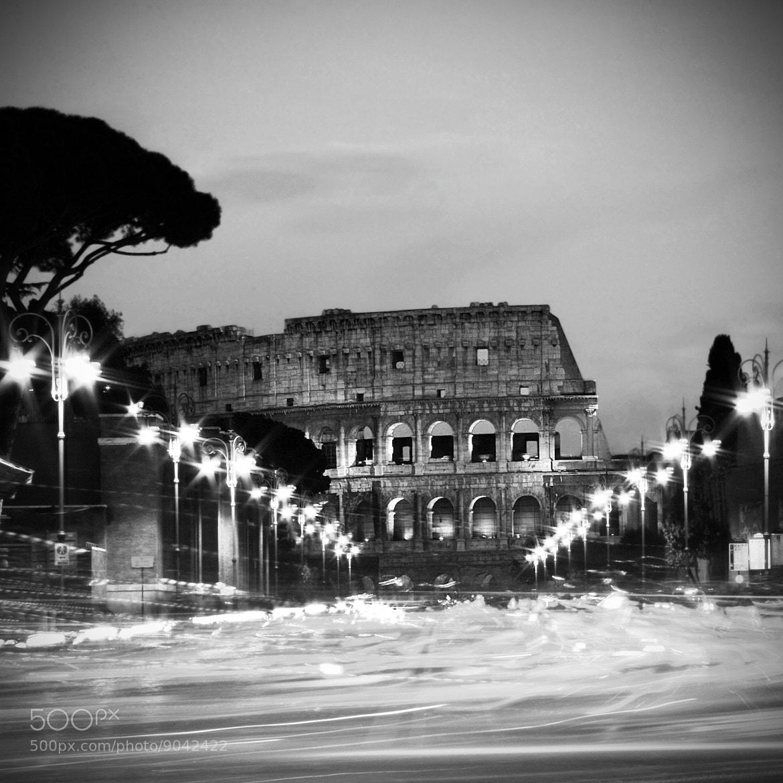 Photograph Magic Rome - b&w by Francesco Riccardo Iacomino on 500px
