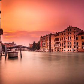 Venice Sunset Long Exposure by Ramelli Serge (RamelliSerge)) on 500px.com