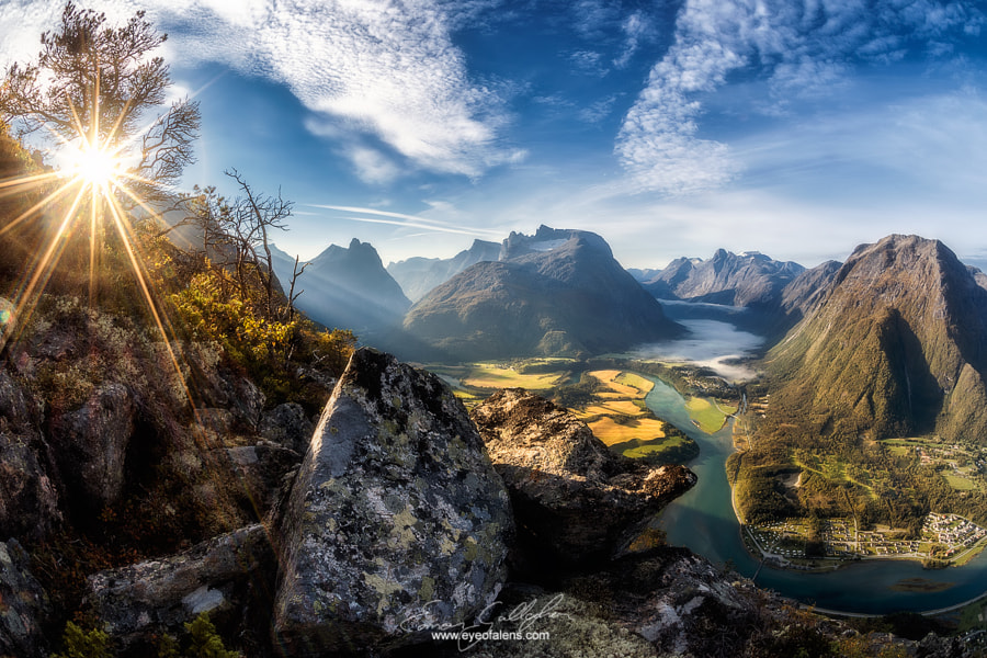 Photograph Åndalsnes Alive by Eamon Gallagher on 500px