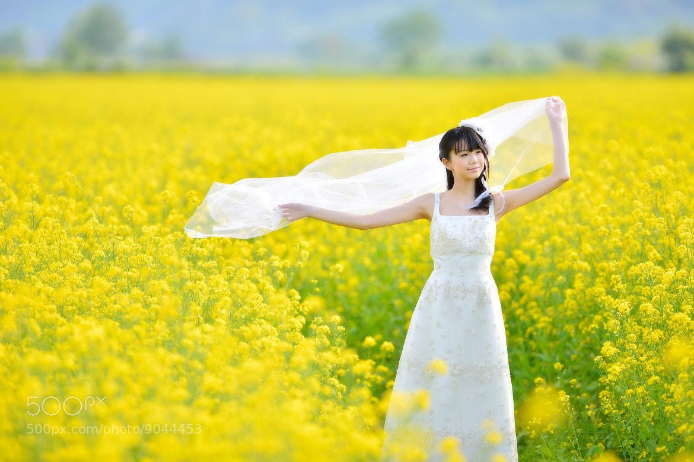 Photograph Flower Girl by Kazuya Seki on 500px