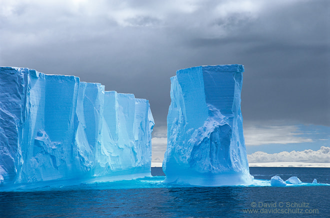 Photograph Tabular Iceberg by David C. Schultz on 500px
