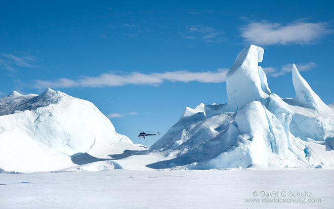 Photograph Helo in Antarctica by David C. Schultz on 500px