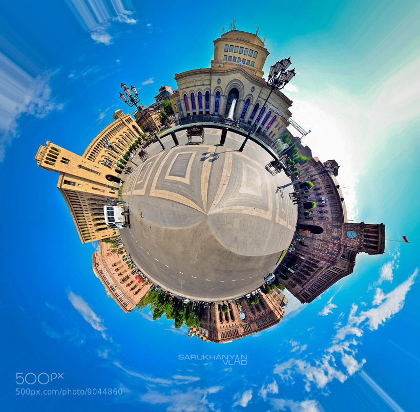 Photograph Planet Yerevan by Vlad Sarukhanyan on 500px