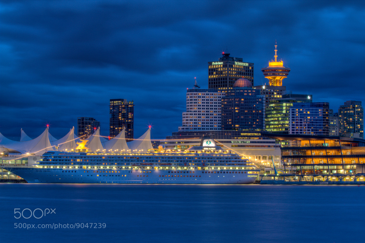 Photograph Vancity Blue Hour by Chris Muir on 500px