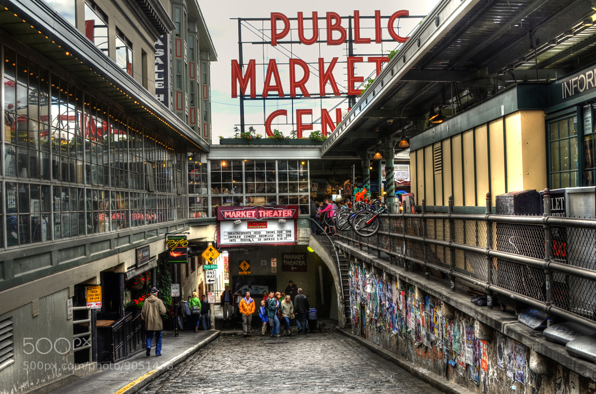 Photograph Pike's Place Market by Chad Estes on 500px