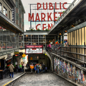 Pike's Place Market by Chad Estes (chadestes)) on 500px.com