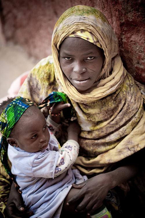 Photograph Niger's woman color by Aniss  Benmeslem on 500px
