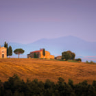 """I'm kind of in a Tuscan mood these days. Yesterday I published """"Tuscan dawn"""" (thanks for all the support BTW, really appreciate it!). So today I'll publish another shot from Val d'Orcia. This is the famous small chapel photographed from the road between San Quirico and Pienza (SR71, I think it was) in the warm evening sun one evening in late july last year. Can't wait to come back! Hope you like it!"""