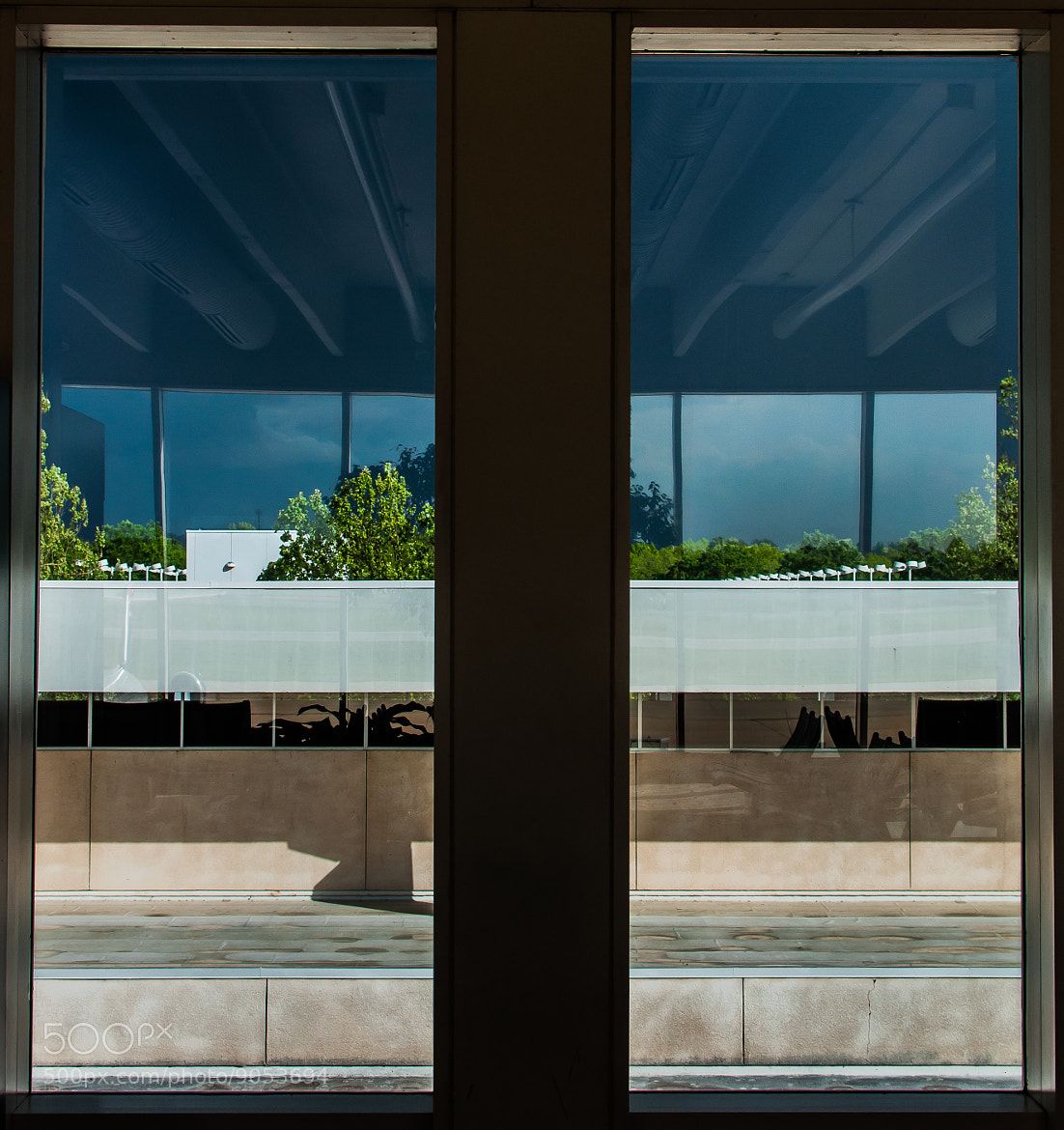 Photograph Airport Window by Kurt Nelson on 500px