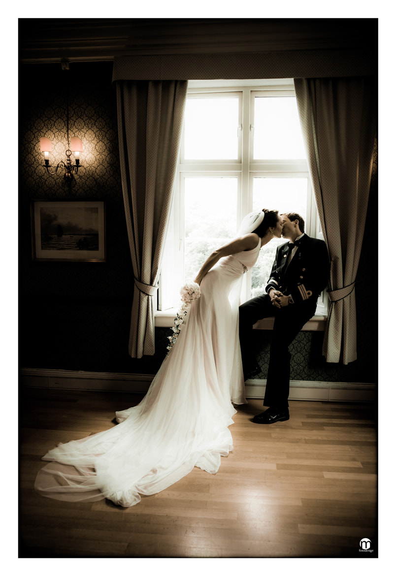 Photograph The weddingkiss by ToveLise Mossestad on 500px
