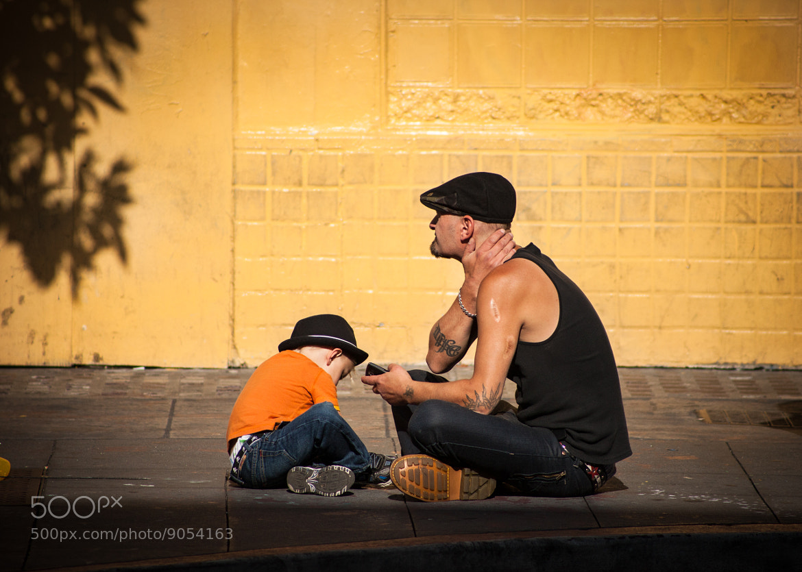Photograph Father and Son Chilling by Michael McAdams on 500px