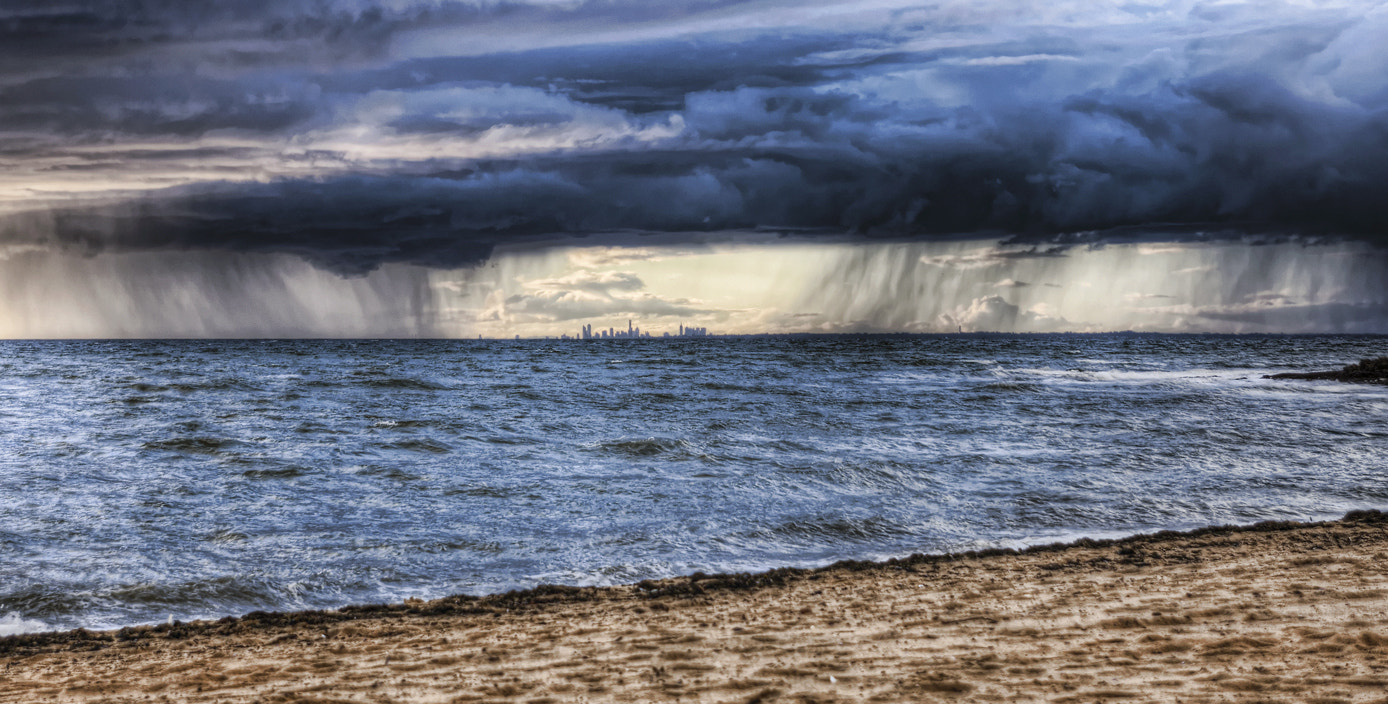 Photograph Melbourne across the Bay by Brendon C on 500px