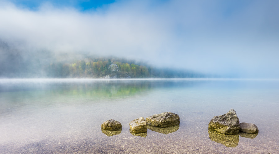 Dreamy Bohinj Lake
