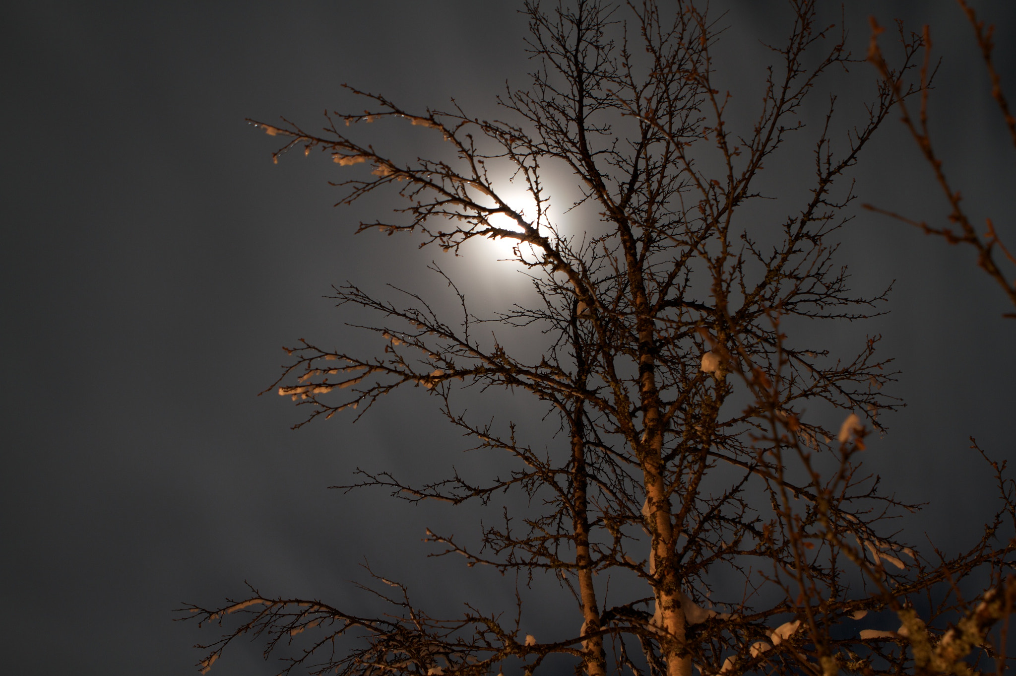 Photograph Cloudy moon by Christian Bedsvaag on 500px