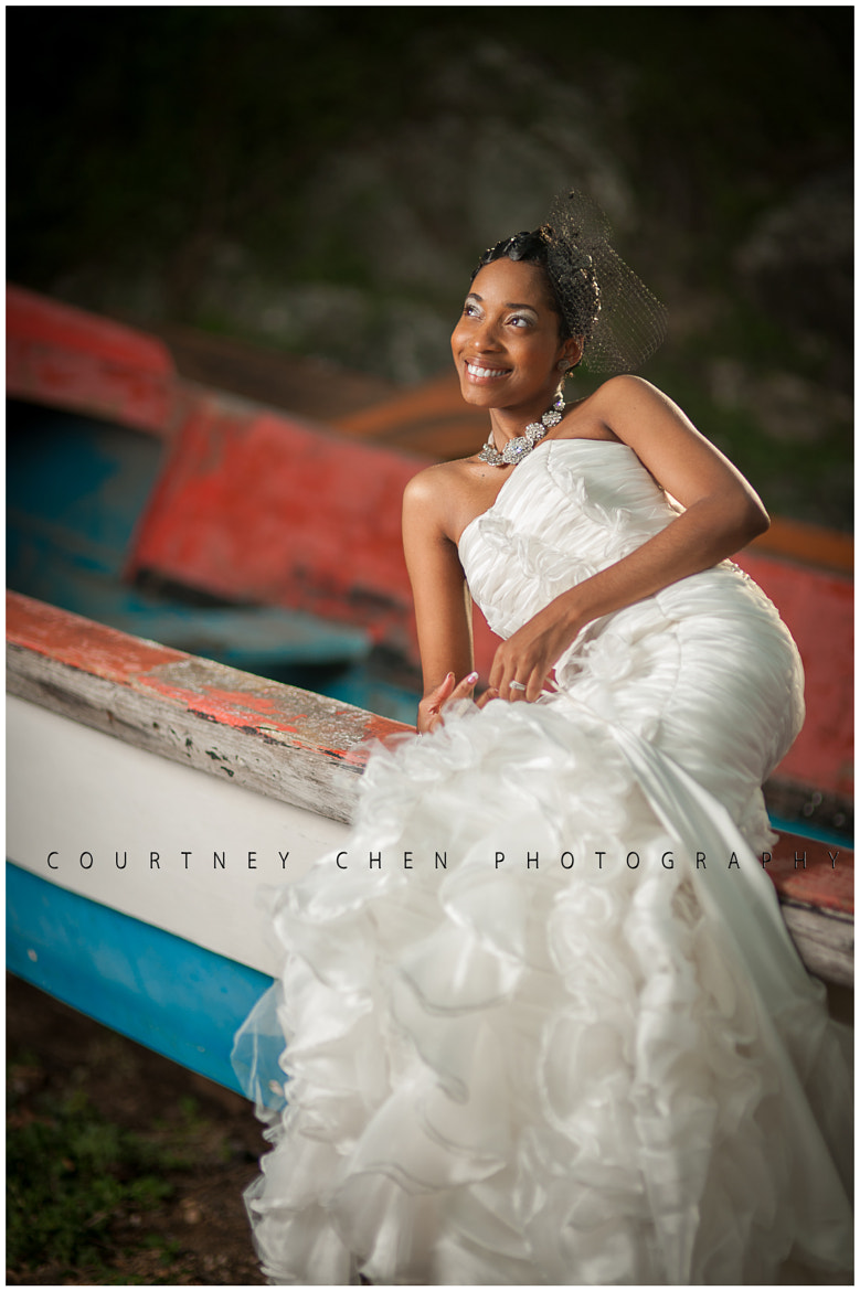 Photograph THE BRIDE ON A FISHER BOAT by Courtney Chen on 500px