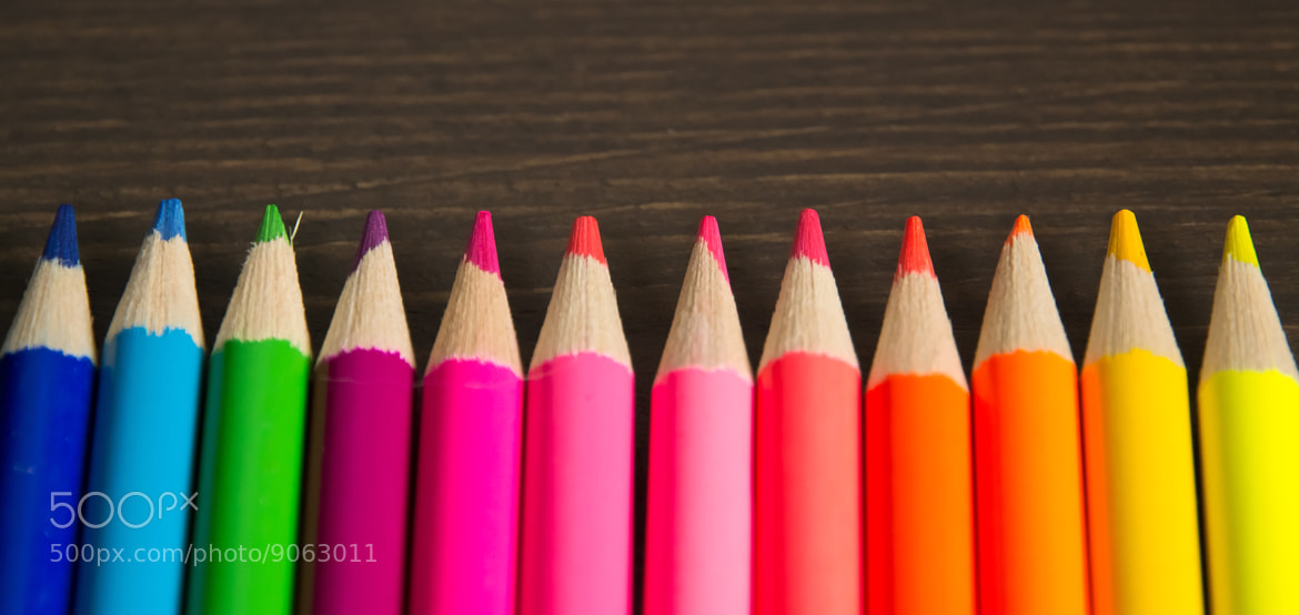 Photograph Crayon De Couleur 1 by Charles DELEPINE on 500px