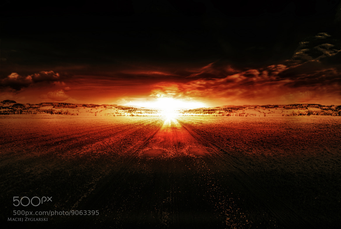 Photograph ARMAGEDON by Maciej Zyglarski (B.D.D) on 500px
