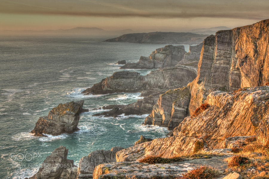 Photograph Mizen Head Sideways by Niall Murphy on 500px