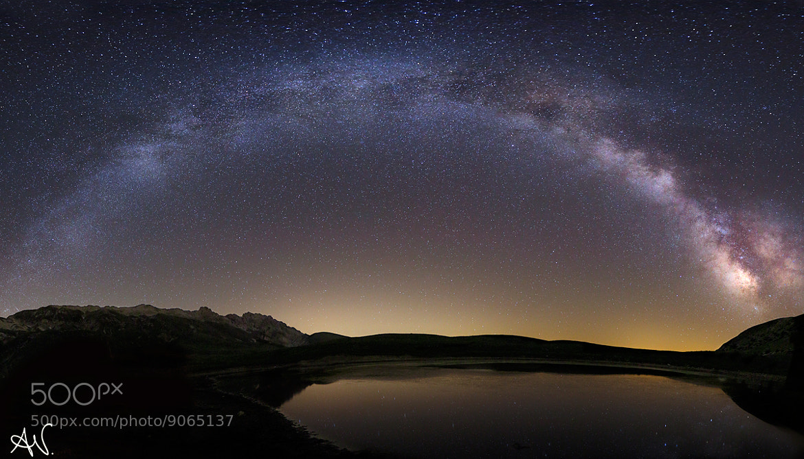 Photograph Galaxy by Andrea Visca on 500px