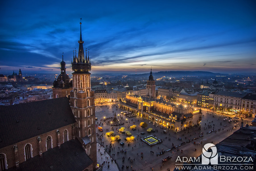 Kraków - Poland [old city] by Adam Brzoza on 500px.com