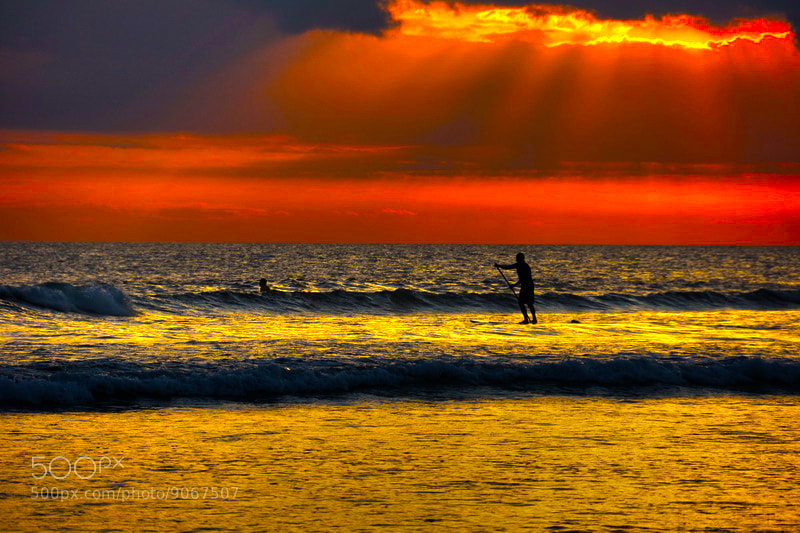 Photograph Goin Sunset Legian beach Bali Indonesia by timothy wang on 500px