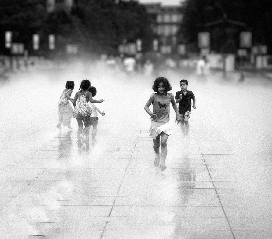 Photograph Childhood running #6 by Magali K. on 500px