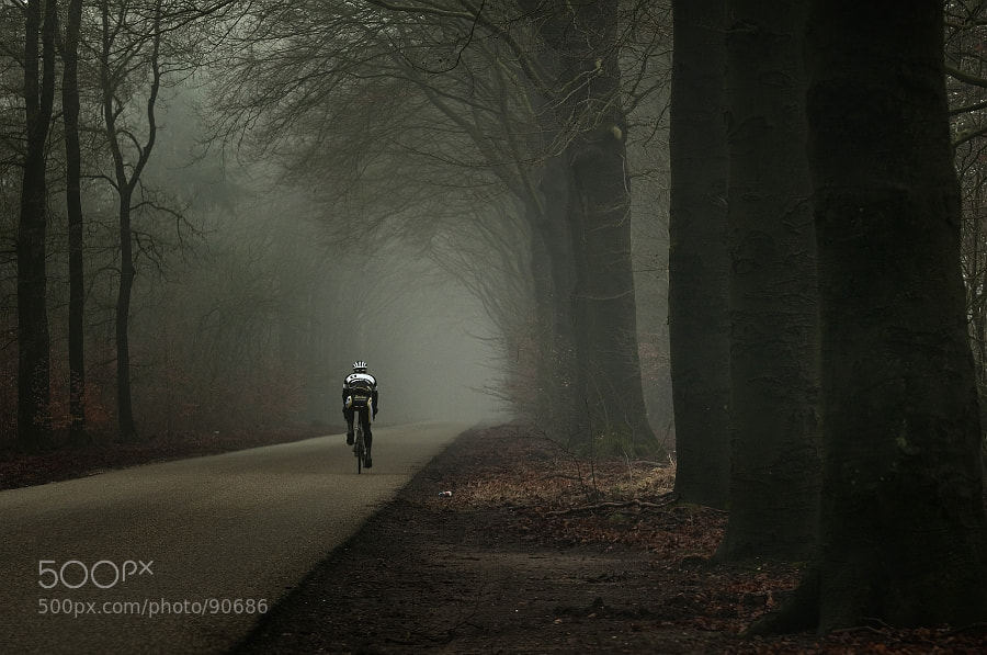 Photograph To the vanishing point by Jeannette  Oerlemans on 500px