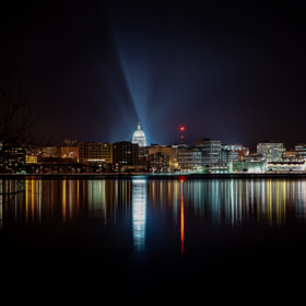 Madison Night Skyline by Brian Behling (Brian50)) on 500px.com