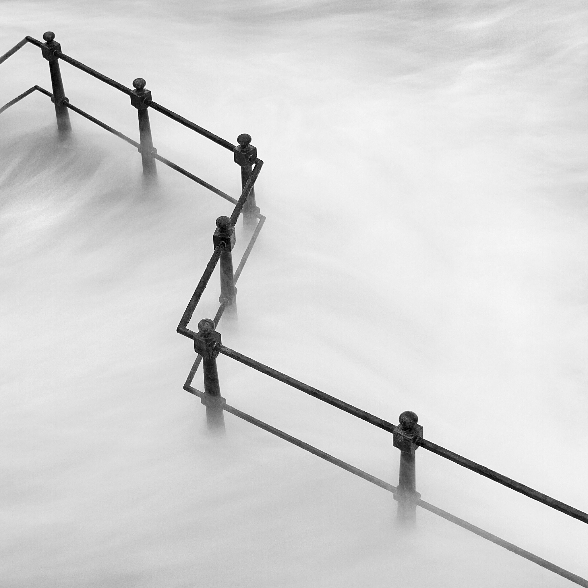 Photograph Railings by Sharon Harmeston on 500px